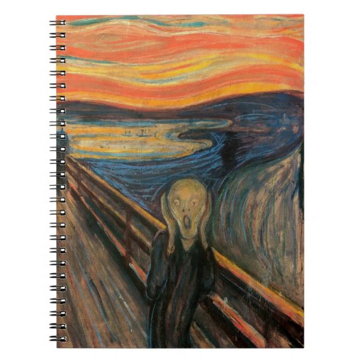 'The Scream' Spiral Note Book