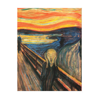 The Scream -  Stretched Canvas Reproduction Stretched Canvas Prints