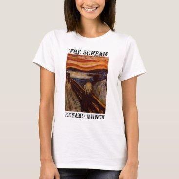 CloudDancer7 The Scream T-Shirt
