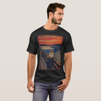 The Scream with Happy Poop T-Shirt