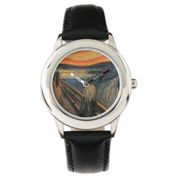 vintage_gift_shop The Scream Wrist Watch