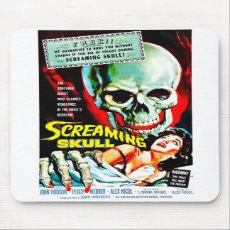 """The Screaming Skull"" Mousepad"
