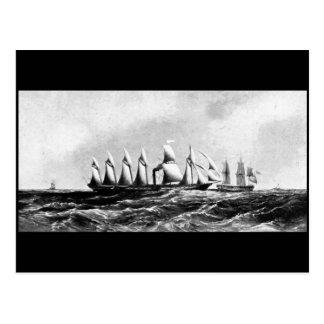 The Screw Steamship, 'Great Britain', circa 1840s Postcard