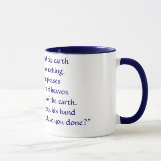 The scriptures you never see on coffee mugs