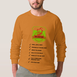The Scrotums Back Catalogue Sweater