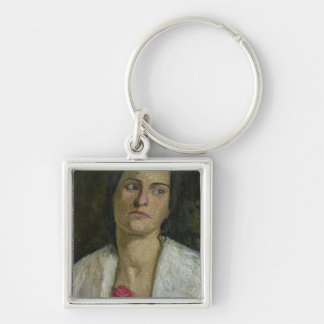 The Sculptress Clara Rilke-Westhoff  1905 Keychain