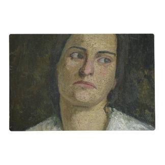 The Sculptress Clara Rilke-Westhoff  1905 Placemat
