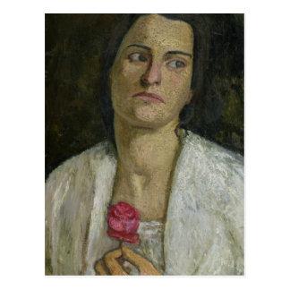 The Sculptress Clara Rilke-Westhoff  1905 Postcard