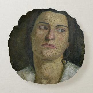 The Sculptress Clara Rilke-Westhoff  1905 Round Pillow