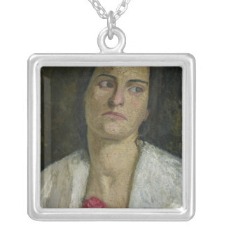 The Sculptress Clara Rilke-Westhoff  1905 Silver Plated Necklace