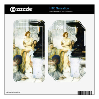 The Sculpture Gallery detail by Alma-Tadema HTC Sensation Skin