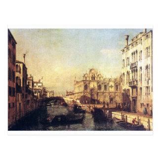 The Scuola of San Marco by Bernardo Bellotto Postcard