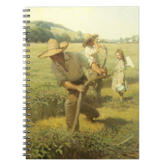 The Scythers Back to the Farm by NC Wyeth Note Books