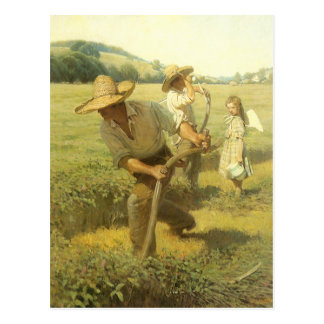The Scythers Back to the Farm by NC Wyeth Postcards