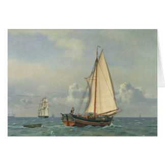 The Sea, 1831 Card