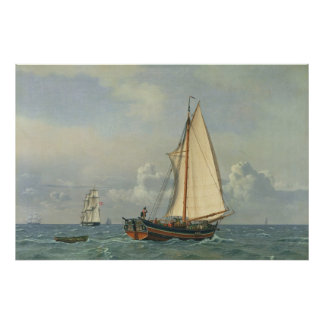 The Sea, 1831 Poster