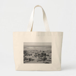 The Sea at Cromer Canvas Bags