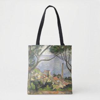The Sea at l'Estaque, 1878 Tote Bag