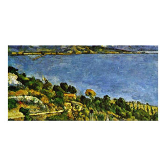 The Sea At L'Estaque By Paul Cézanne (Best Quality Photo Card