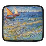 The sea at Saintes-Maries by Van Gogh Sleeves For iPads