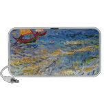 The sea at Saintes-Maries by Van Gogh Portable Speakers