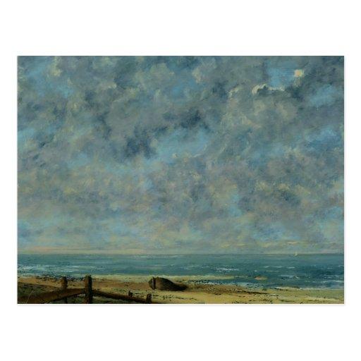 The Sea, c.1872 Post Card