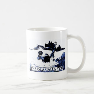 The Sea Calls You - Spanish American War Coffee Mug