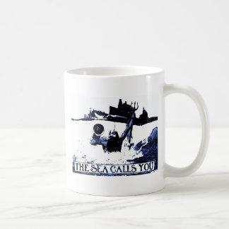 The Sea Calls You - Spanish American War Coffee Mugs