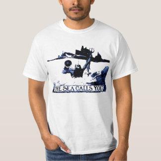 The Sea Calls You - Spanish American War Tee Shirt