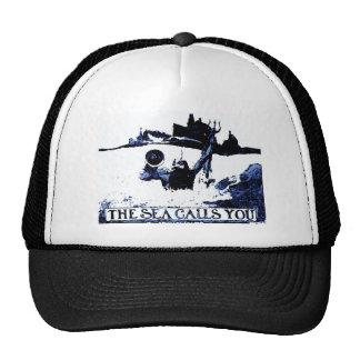 The Sea Calls You - Spanish American War Trucker Hat