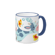 The Sea Cow and Fish Friends Mug