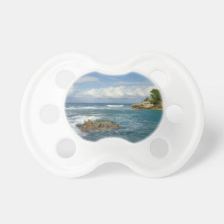The Sea from Labadee BooginHead Pacifier