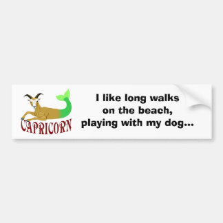 The Sea Goat Bumper Stickers