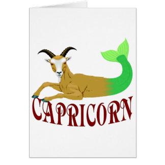 The Sea Goat Card