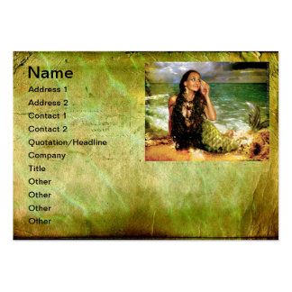 The Sea Is Calling Large Business Cards (Pack Of 100)