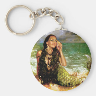 The Sea Is Calling Basic Round Button Keychain