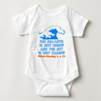 The Sea-Level is Not Rising Baby Bodysuit