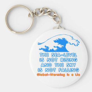 The Sea-Level is Not Rising Keychain