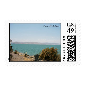 The Sea of Galilee Postage Stamp