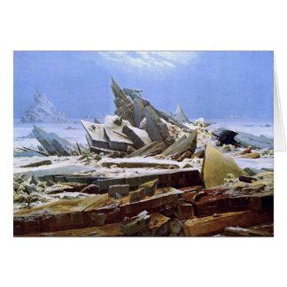 The Sea of Ice, Caspar David Friedrich Card