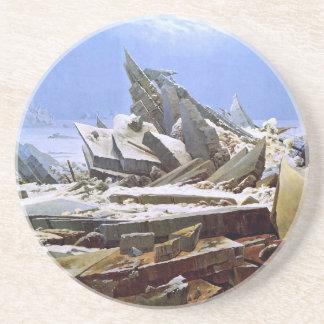 The Sea of Ice, Caspar David Friedrich Coaster