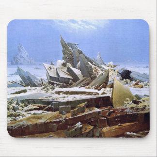 The Sea of Ice, Caspar David Friedrich Mouse Pad
