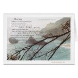 The Sea Poem  Greeting Card