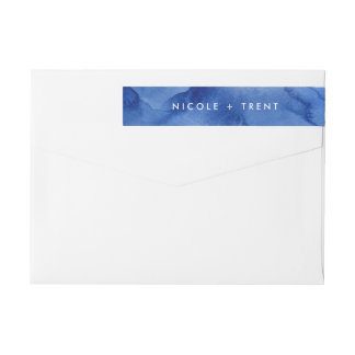 The Sea / Return label Wraparound Return Address Label