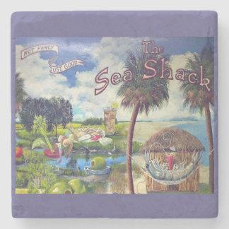 The Sea Shack, Hilton Head Marble Coaster