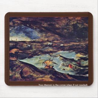 The Sea Storm By Bruegel D. Ä. Pieter Mouse Pads