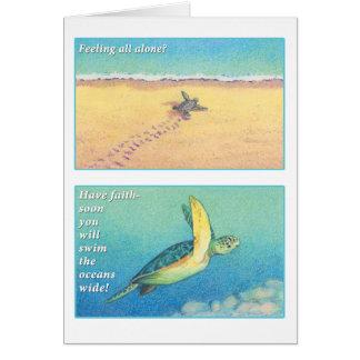 The Sea Turtle Greeting Card