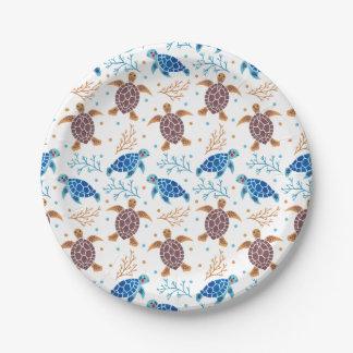 Paper Plate Sea Turtle FREE Template  Ocean  Pinterest