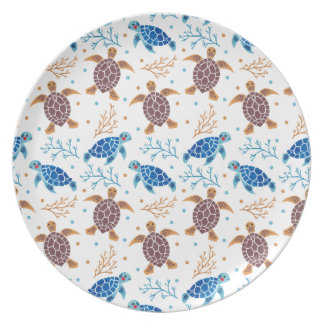 The Sea Turtle Pattern Plate