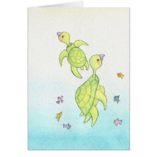 The Sea Turtles Greeting Card